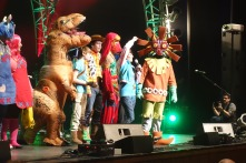Cosplay contest (Skull Kid won)