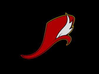 The Well-Red Mage logo - a red mage curved top hat with a white feather