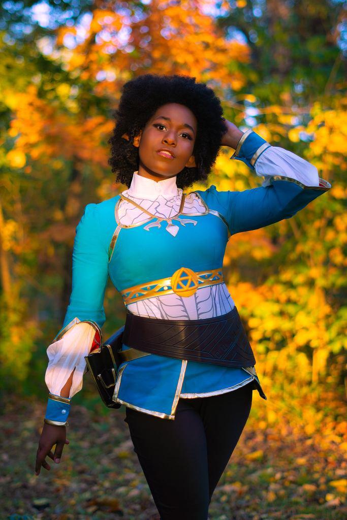 Akakioga as Zelda. Photo by Brad Conyers Photography