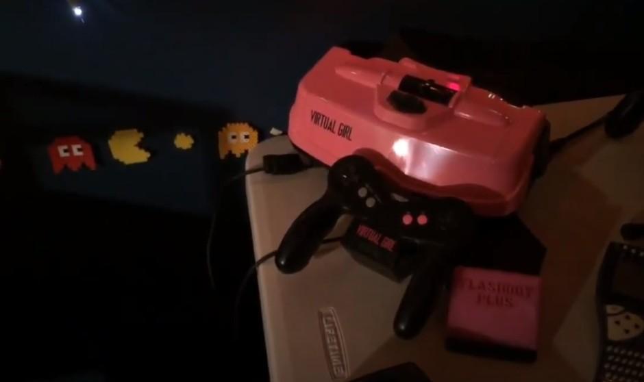 Candice Yaacobi's custom-made Virtual Girl console and controller